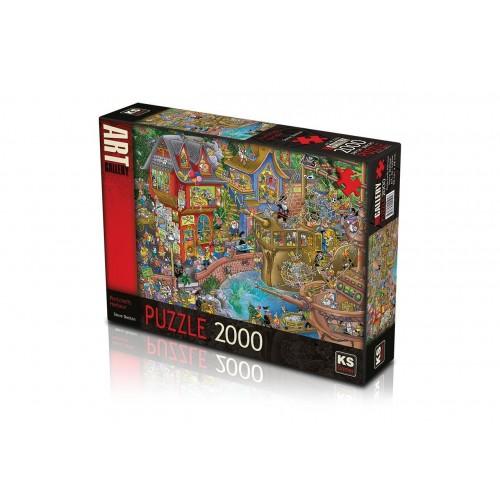 2000 PARÇA ASORTİ PUZZLE (8)