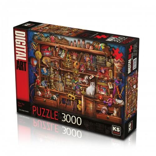 3000 PARÇA ASORTİ PUZZLE (12)